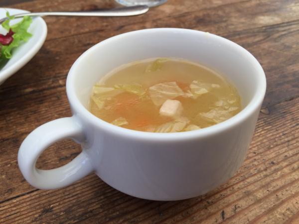 ガープウィークスのコンソメスープ