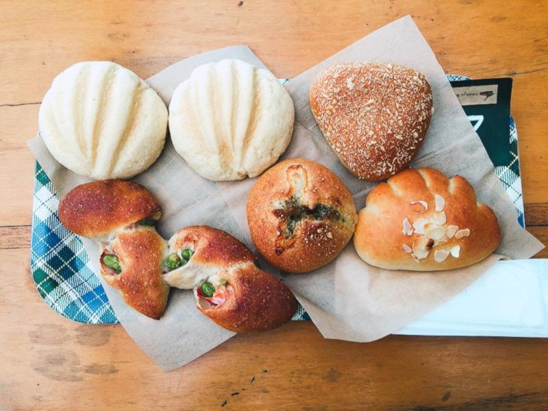 山のパン屋ダディーズベーカリーのパン